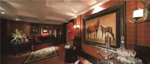 长方形客厅家具样板间