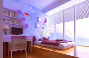 阳光儿童房榻榻米设计
