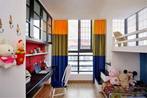 现代风格儿童房家装样板间