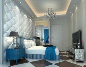 现代小卧室装修案例图片