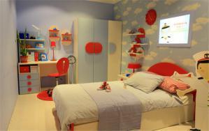 简洁大方儿童房装修实例