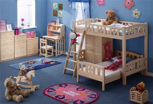 儿童房定做上下床价格