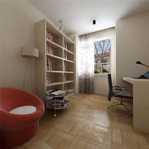 现代简易立式书柜