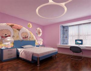 卡通10平米儿童房设计
