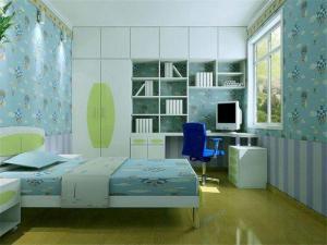 小清新10平米儿童房设计