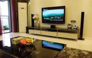 温馨后现代电视柜