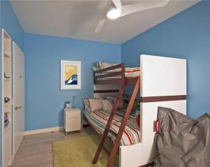 两个孩子儿童房设计家具