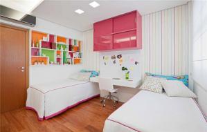 家装两个孩子儿童房设计