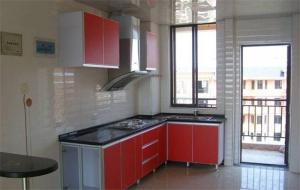 实用型阳台改厨房效果图