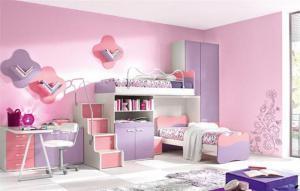 梦幻儿童房设计上下床