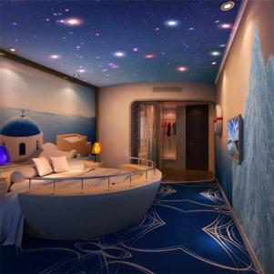 圆形床创意儿童房