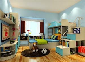 上下床带衣柜一体设计