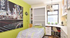 绿色硅藻泥儿童房效果图