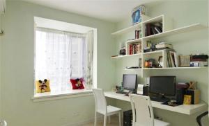 素白简易书柜