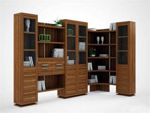 立式书柜家具图片