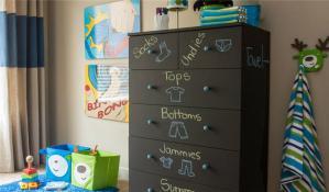 儿童房家具收纳柜