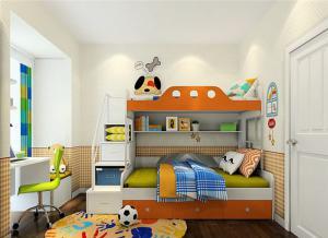 现代儿童家具上下床