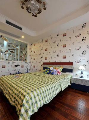 家装儿童房背景墙