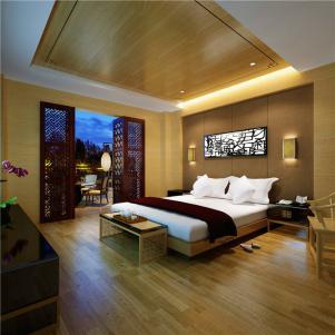 现代小卧室装修图片