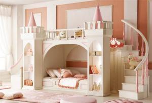 城堡儿童家具上下床