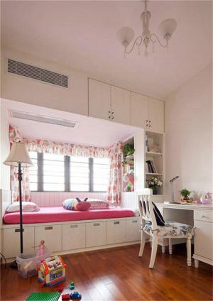 可爱儿童房榻榻米设计