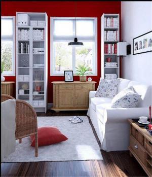 客厅立式书柜