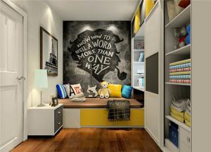 榻榻米儿童房家具设计