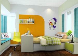 榻榻米儿童房板式家具
