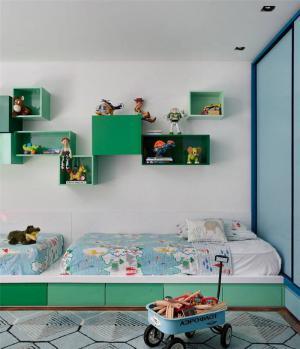 小清新榻榻米儿童房