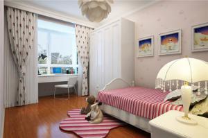 欧洲风格儿童房家装样板间