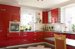 阳台改厨房效果图设计