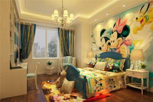 米老鼠儿童房设计与装修