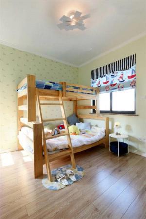 简易卧室上下床装修效果图