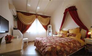 欧式小卧室装修案例图片