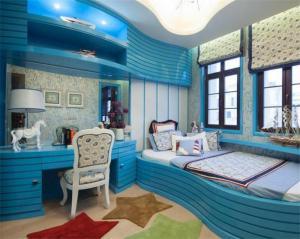 地中海榻榻米儿童房