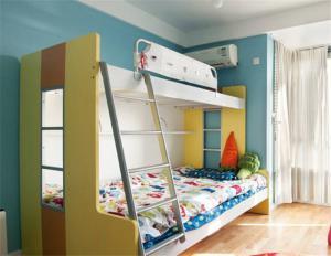 双层上下床家具实拍图