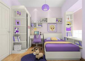 小户型女孩儿童房