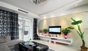 家装后现代电视柜