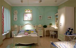 清新儿童房装修实例
