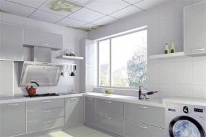 大户型阳台改厨房效果图