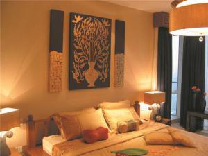 欧式奢华小卧室装修案例图片
