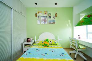 国外儿童房家具组合
