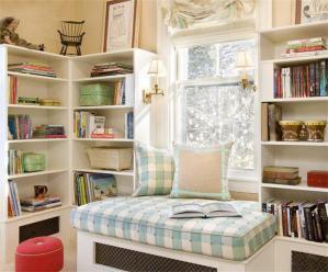 美式小书房书柜