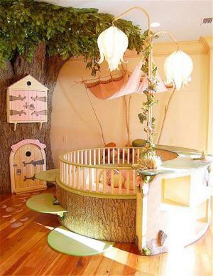 田园风创意儿童房