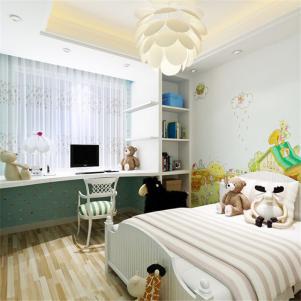 简约美式儿童房