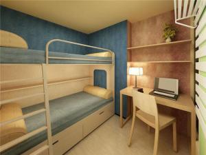 双层上下床家具设计