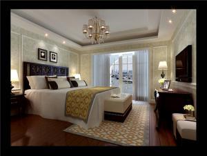 实木小户型卧室装修