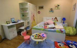 原木儿童房装修实例