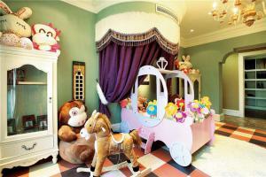 公主国外儿童房