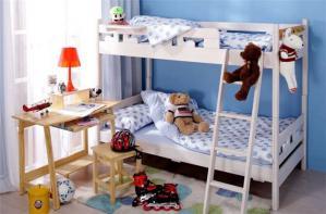 家装儿童房设计上下床